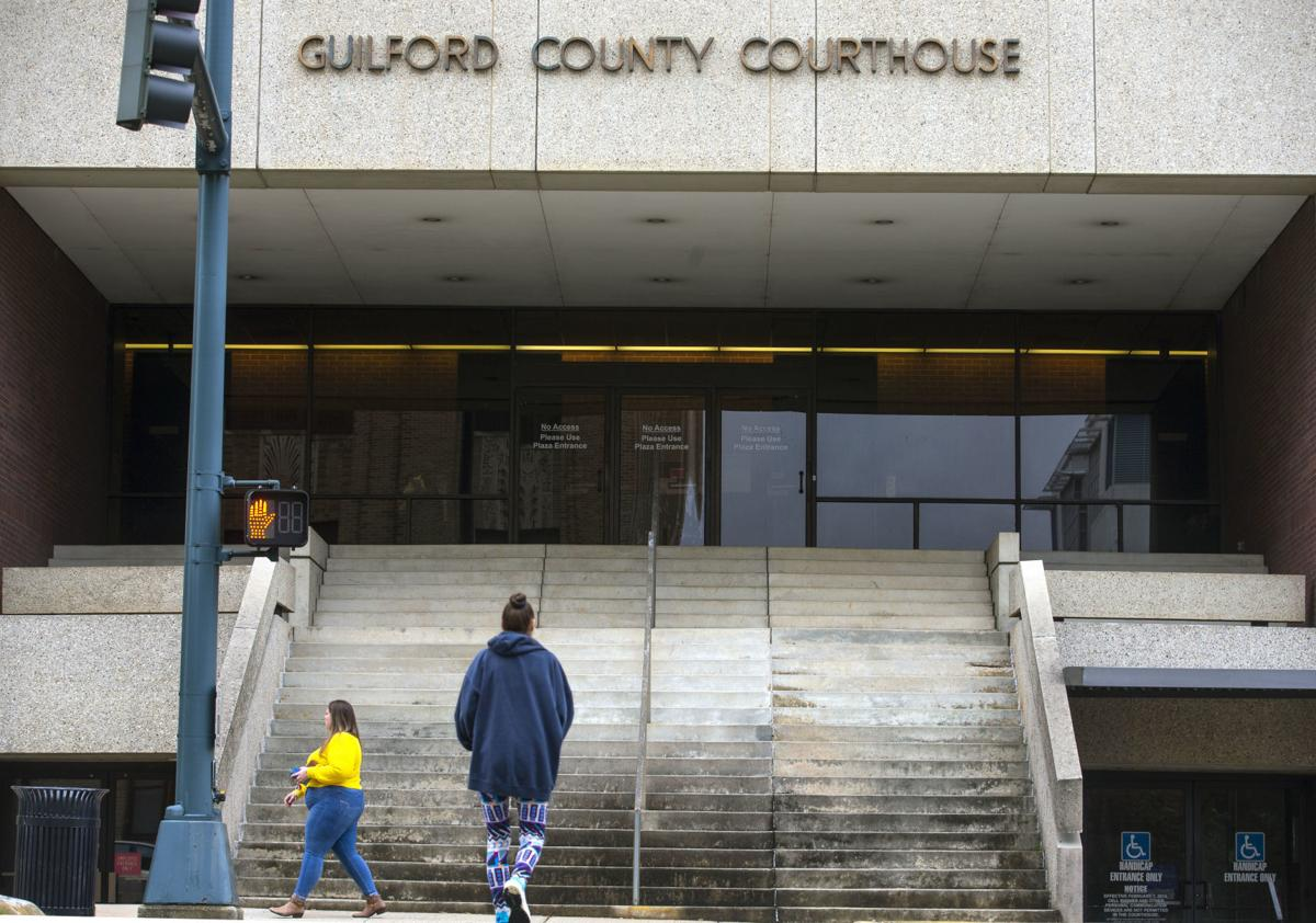 Guilford County Courthouse in Greensboro