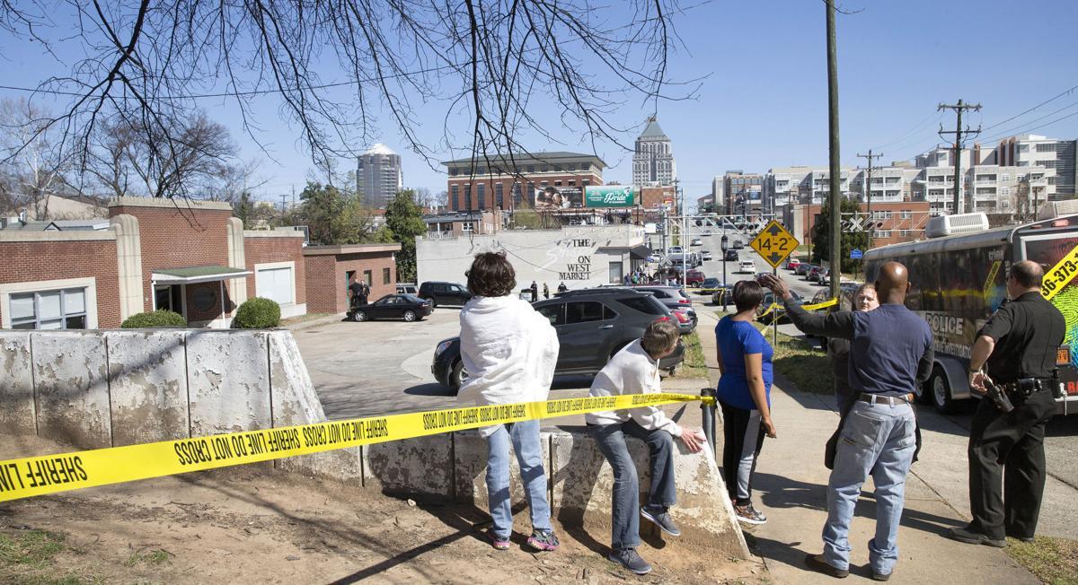 Gunshots at Greensboro Business