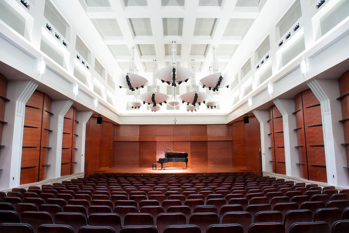 UNCG Tew Recital Hall 2019
