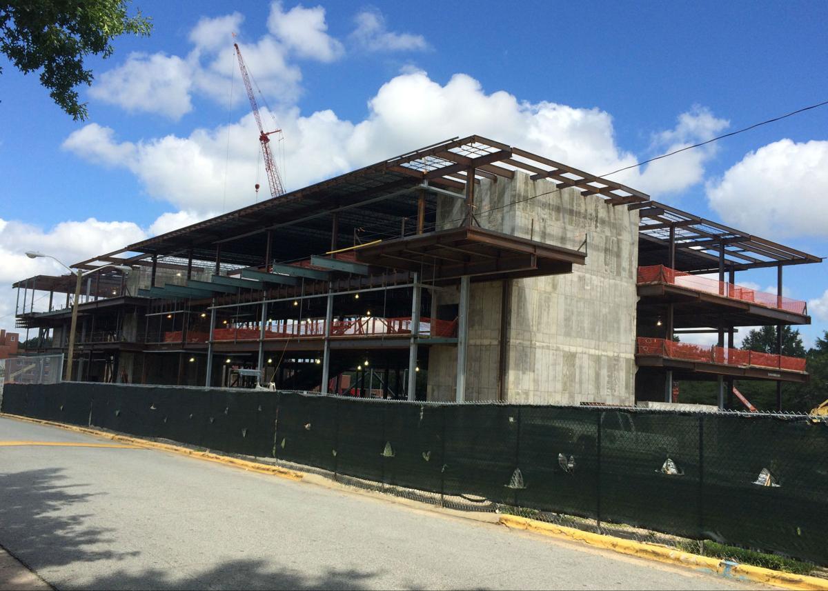 NCAT N.C. A&T student center construction