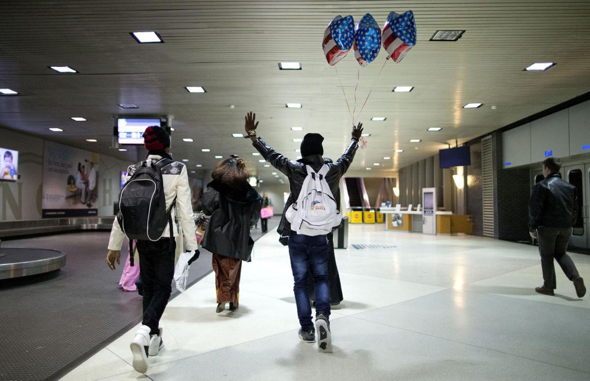 Family From Democratic Republic of Congo Reunited after 9 Years