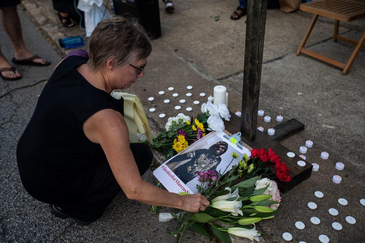 Vigil for Marcus Deon Smith