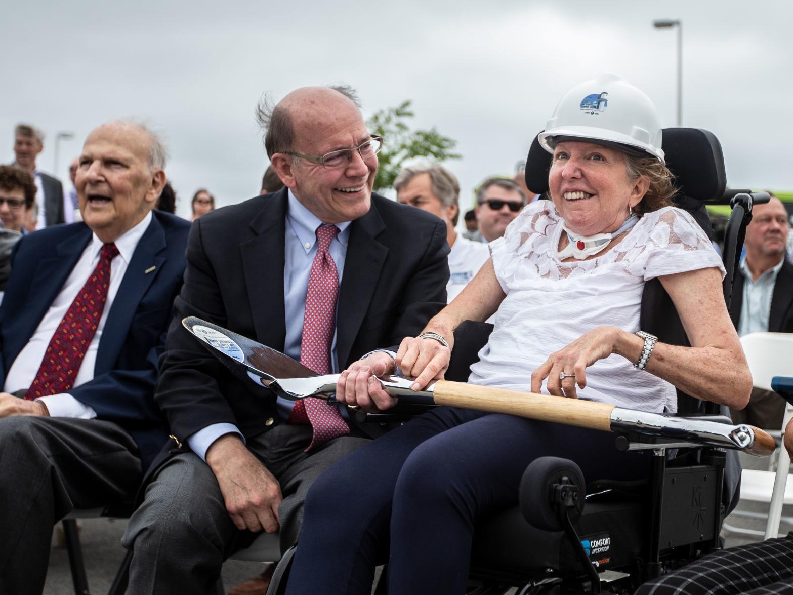 Former U.S. Sen. Kay Hagan makes rare public appearance at ...