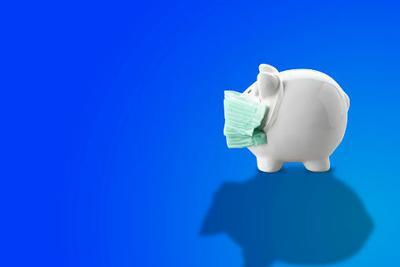 coronavirus piggy bank mask
