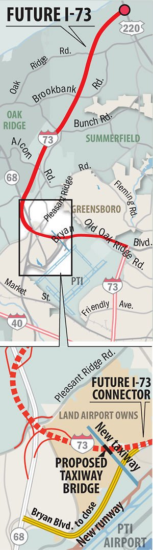 I-73 connector between 220, N.C. 68 dela until Mid-May ... on interstate 275 map, interstate 71 ohio map, interstate 64 virginia map, interstate 280 map, interstate 45 map, interstate 40 texas map, interstate 41 map, interstate 89 map, interstate 87 map, interstate map train, interstate 295 map washington dc, interstate 57 map, interstate 285 map, interstate 35 map, interstate 91 map, interstate 69 map,