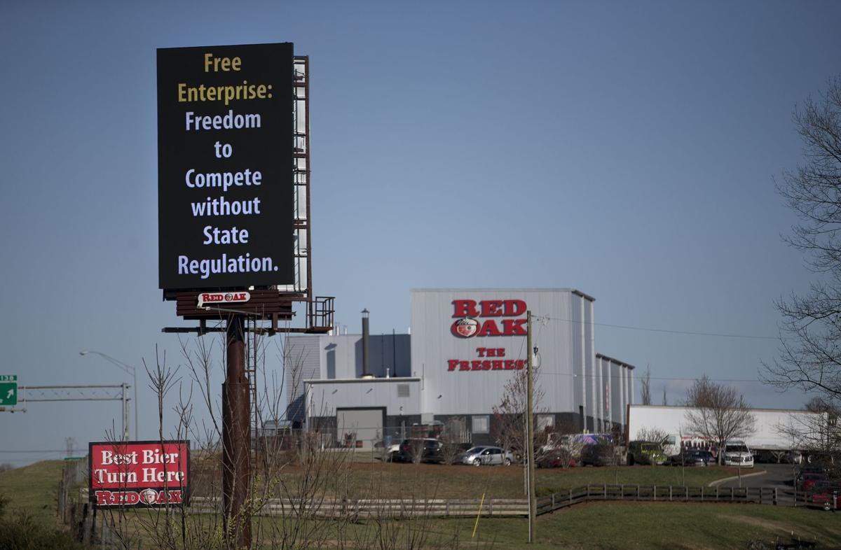 Red Oak Beer Sign