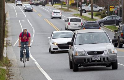 Greensboro Bike Lanes