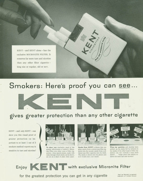 Kent cigarette advertising1