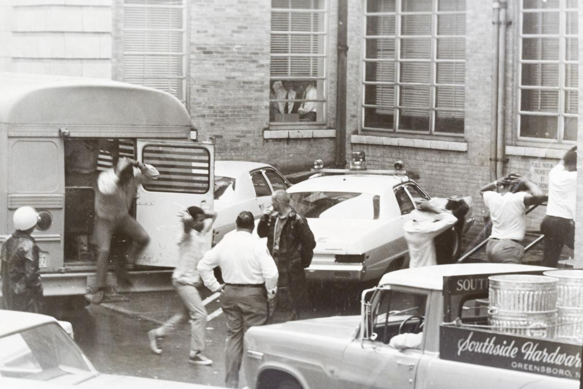 A&T May 1969 students detained