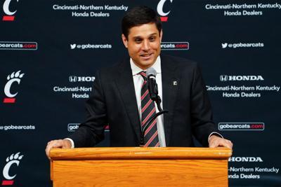 Wes Miller Cincinnati basketball coach, April 16 (copy)