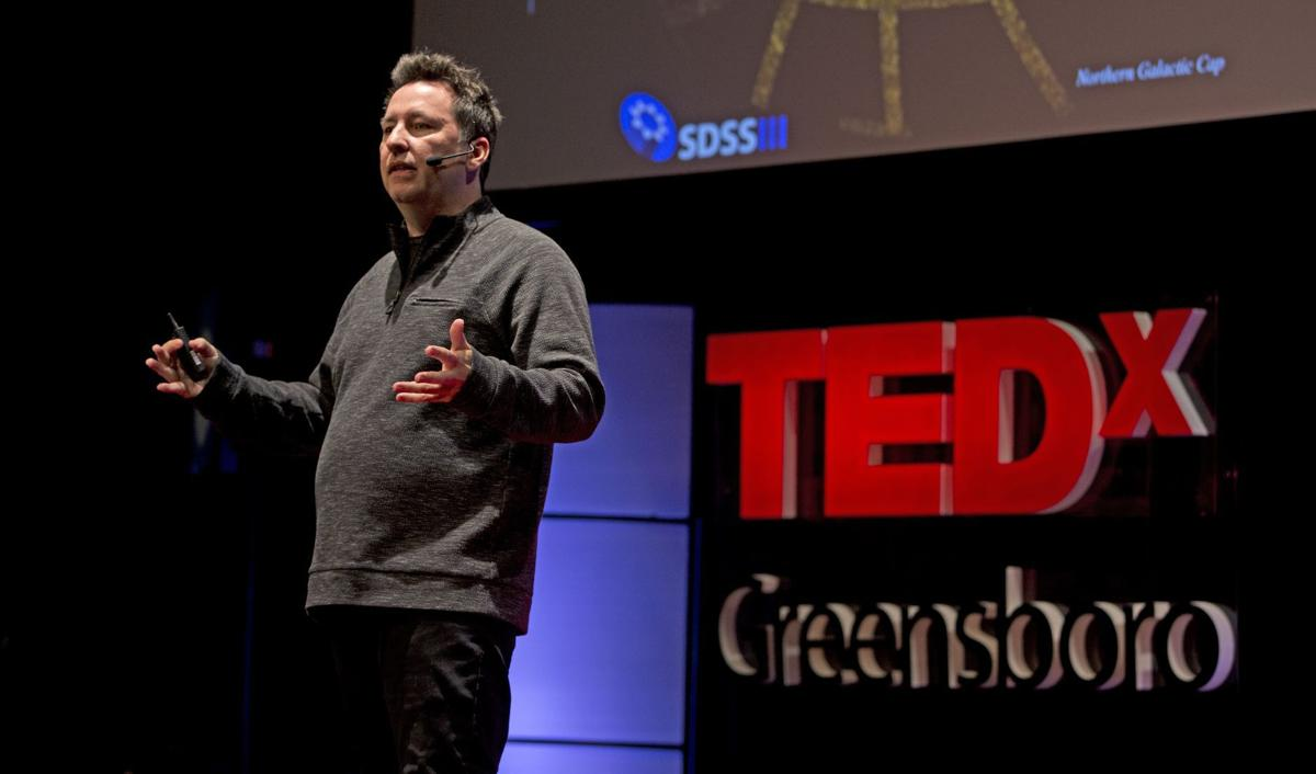 Stephen van Vuuren speaks at TEDx Greensboro (copy)