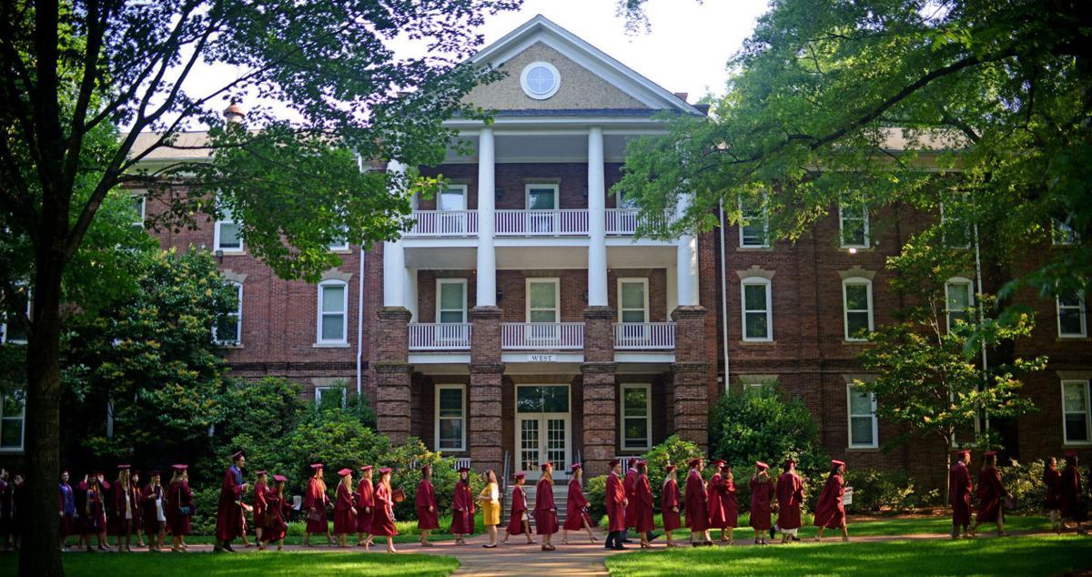 Elon University commencement West