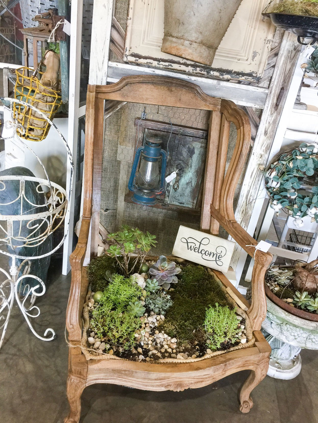Upcycling Almost Anything Can Become Planting Container For Succulents Style Greensboro Com
