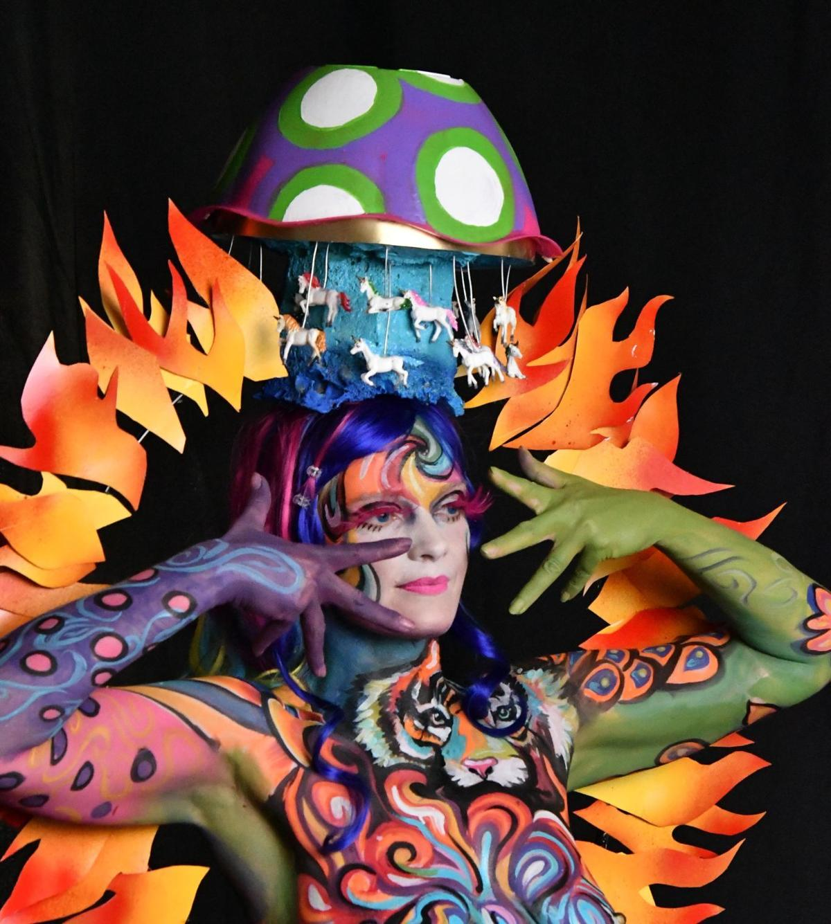 Painting The Town Reidsville Helps Host World Bodypainting Festival Lifestyles Greensboro Com