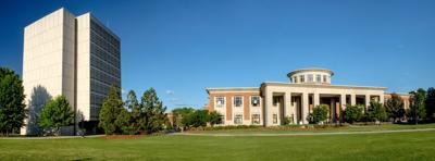 UNCG campus library student center
