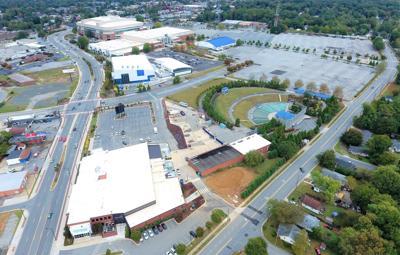Greensboro Coliseum drone Shot 2019 (copy)
