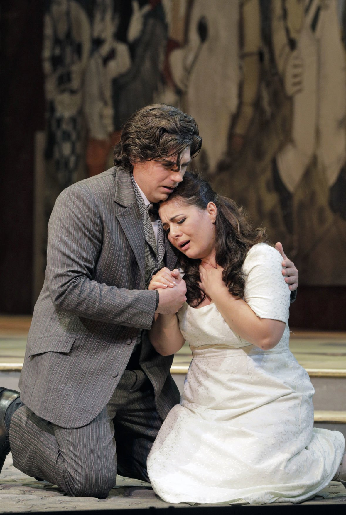 """David Pershall in San Francisco Opera's production of """"Pagliacci"""""""