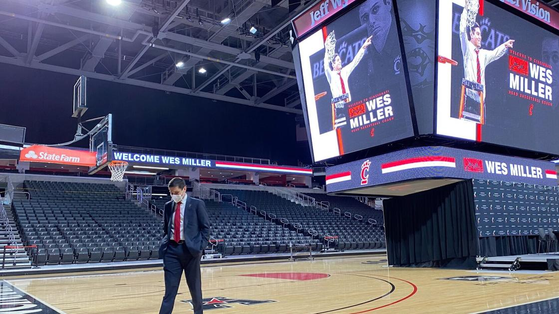 Wes Miller, new Cincinnati men's basketball coach: 'To my former players, I love you guys'