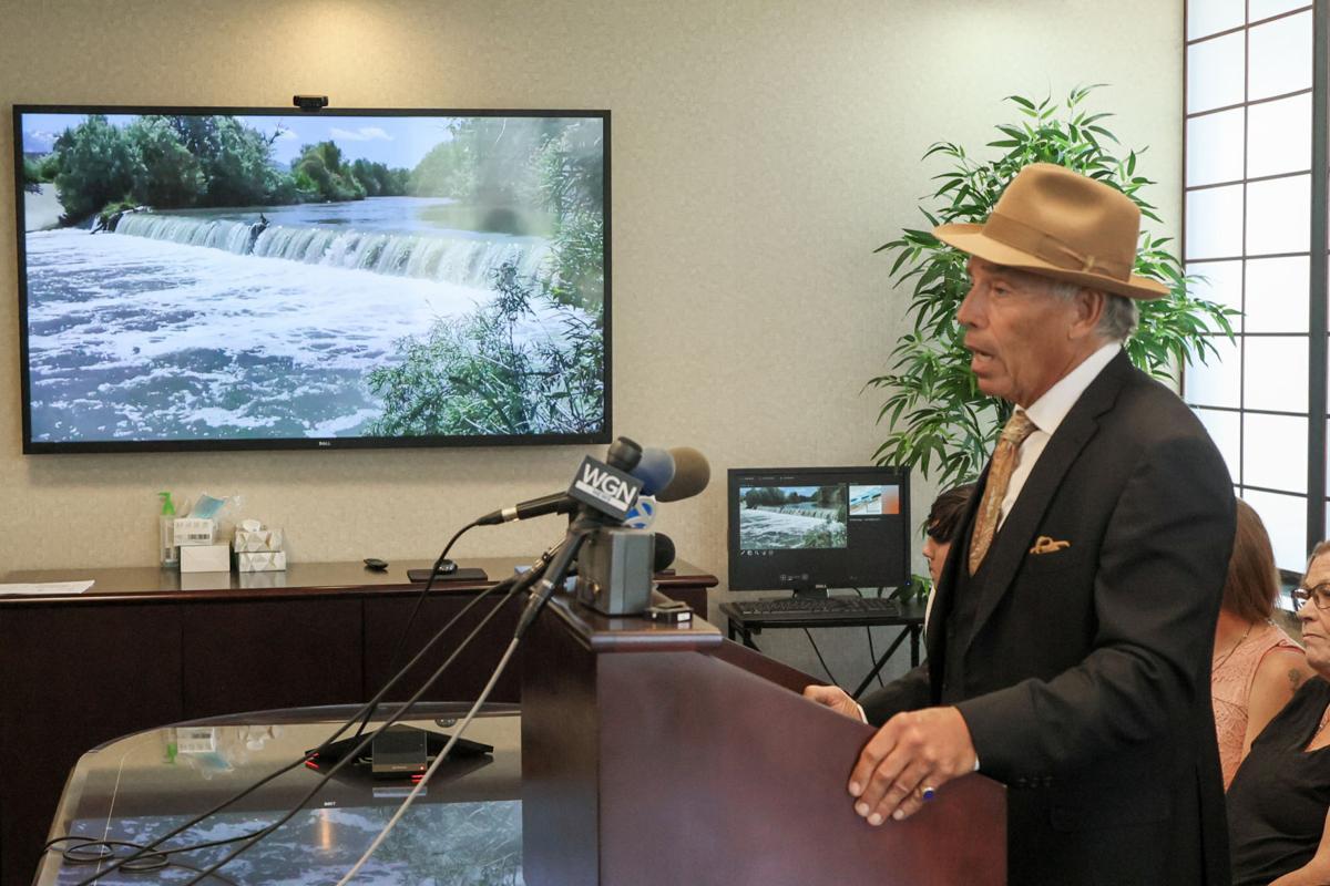 Low-head dam lawsuit