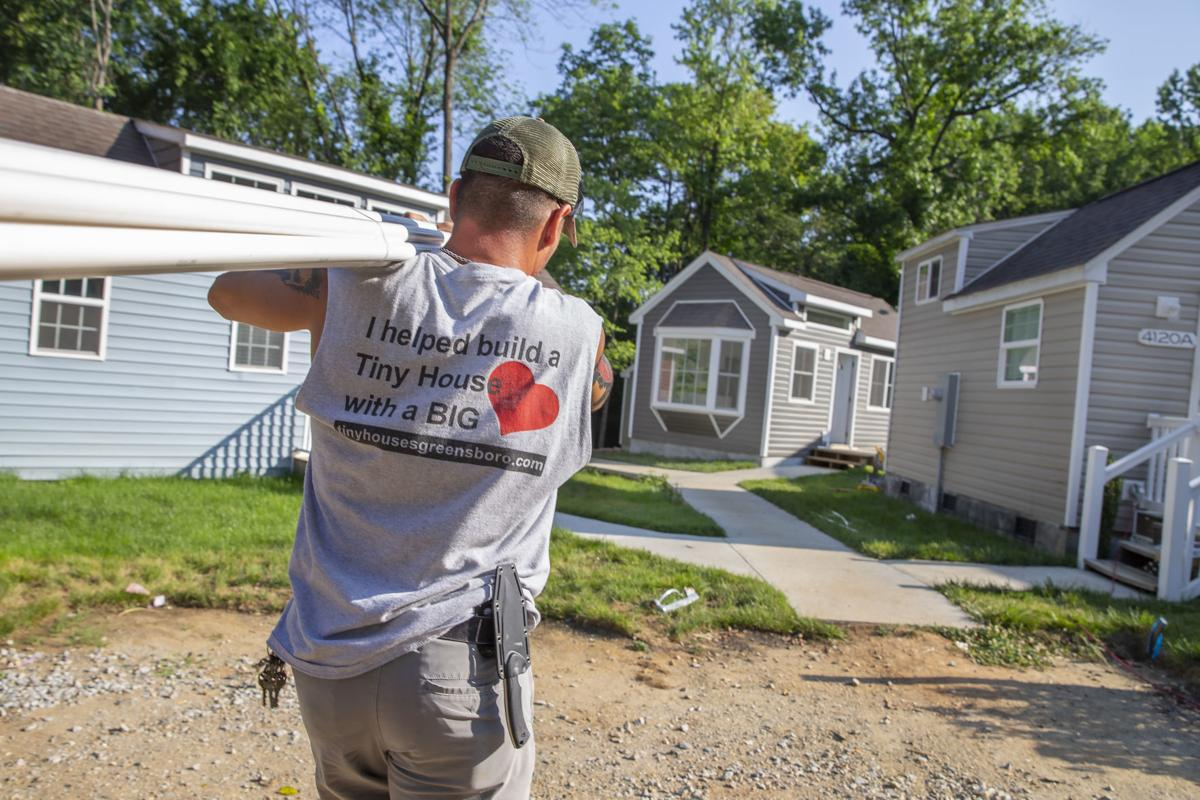 Greensboro debuts tiny home community to address affordable housing