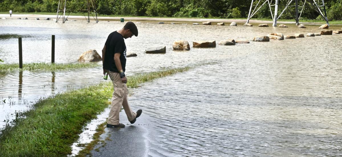 Flooding at Salem Creek Greenway