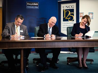 Forsyth Tech UNCG Co-Admission Program