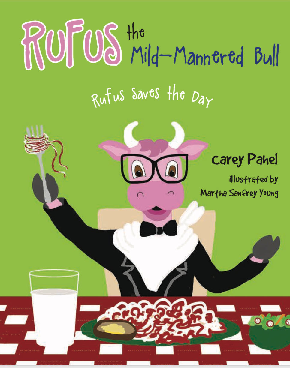 Rufus the mild mannered bull