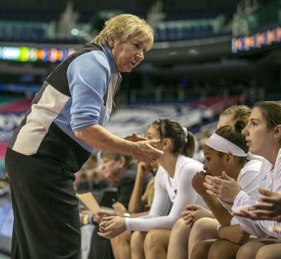 UNC wins against GA Tech at ACC Women's Basketball (copy)