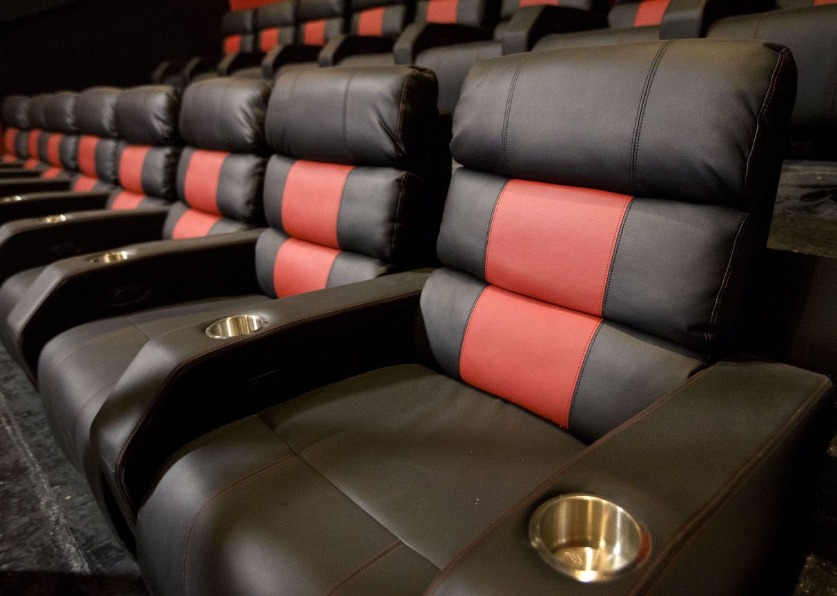 Marty Kotis puts luxury recliners in a theater inside his Red Cinemas property & Recliners at RED: Part of the luxury experience | Local Business ... islam-shia.org