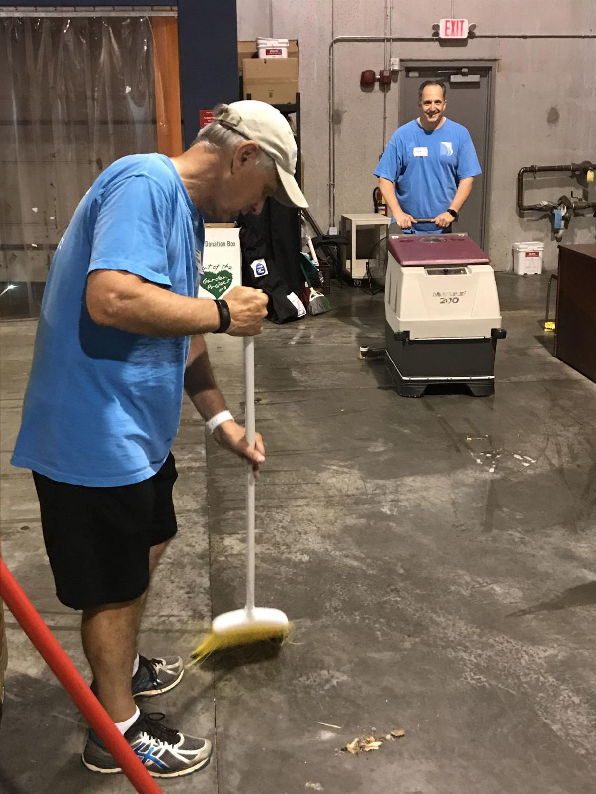 LBA Haynes Strand employees perform acts of service