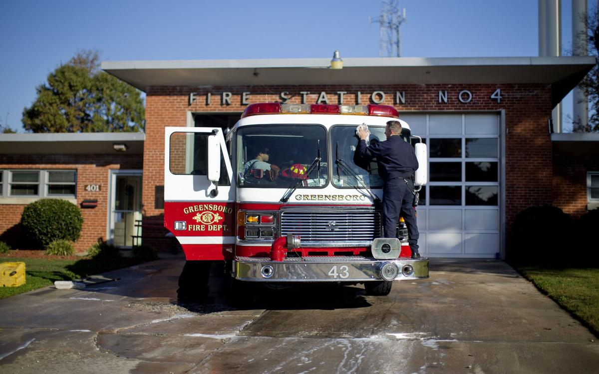 Engine 4 is the busiest truck in the Greensboro Fire Department (copy)