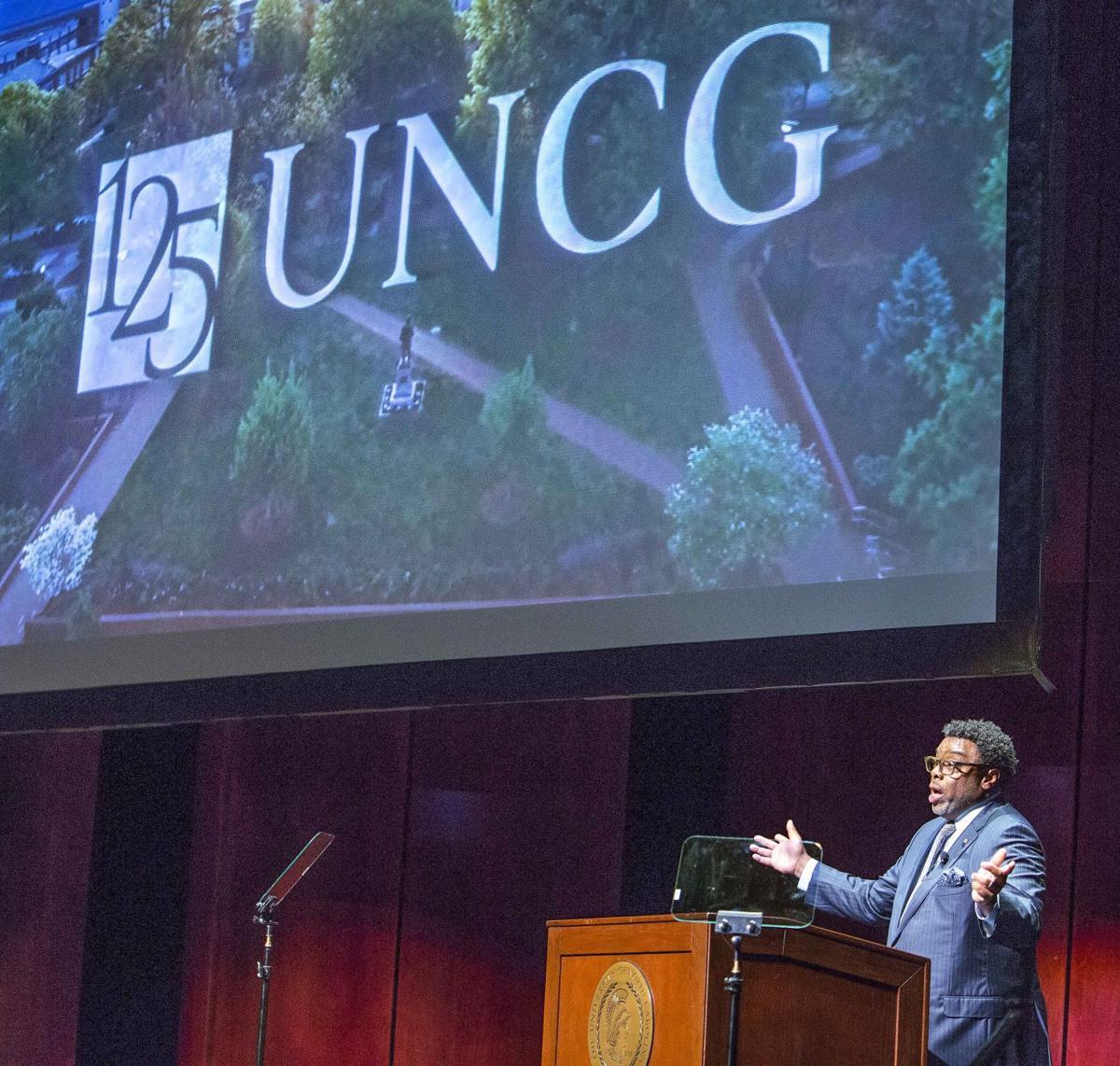 UNCG Chancellor Franklin Gilliam's annual address