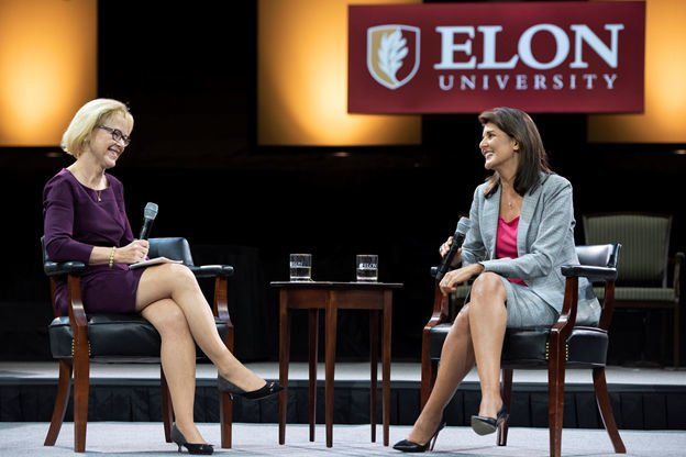 Nikki Haley at Elon Speaker Series