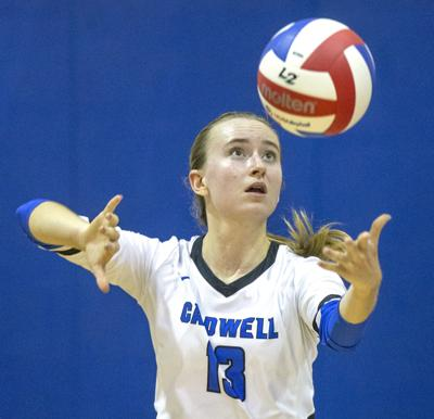 Caldwell Academy volleyball player Gabby Black (copy)