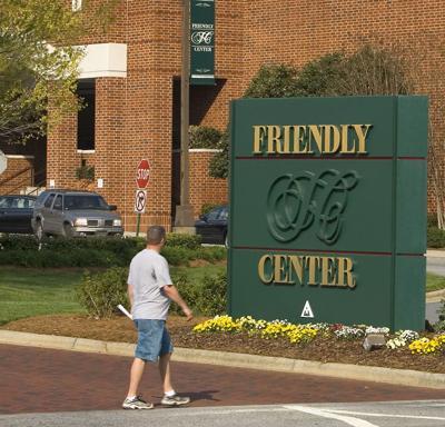 Friendly Center Sign 2007