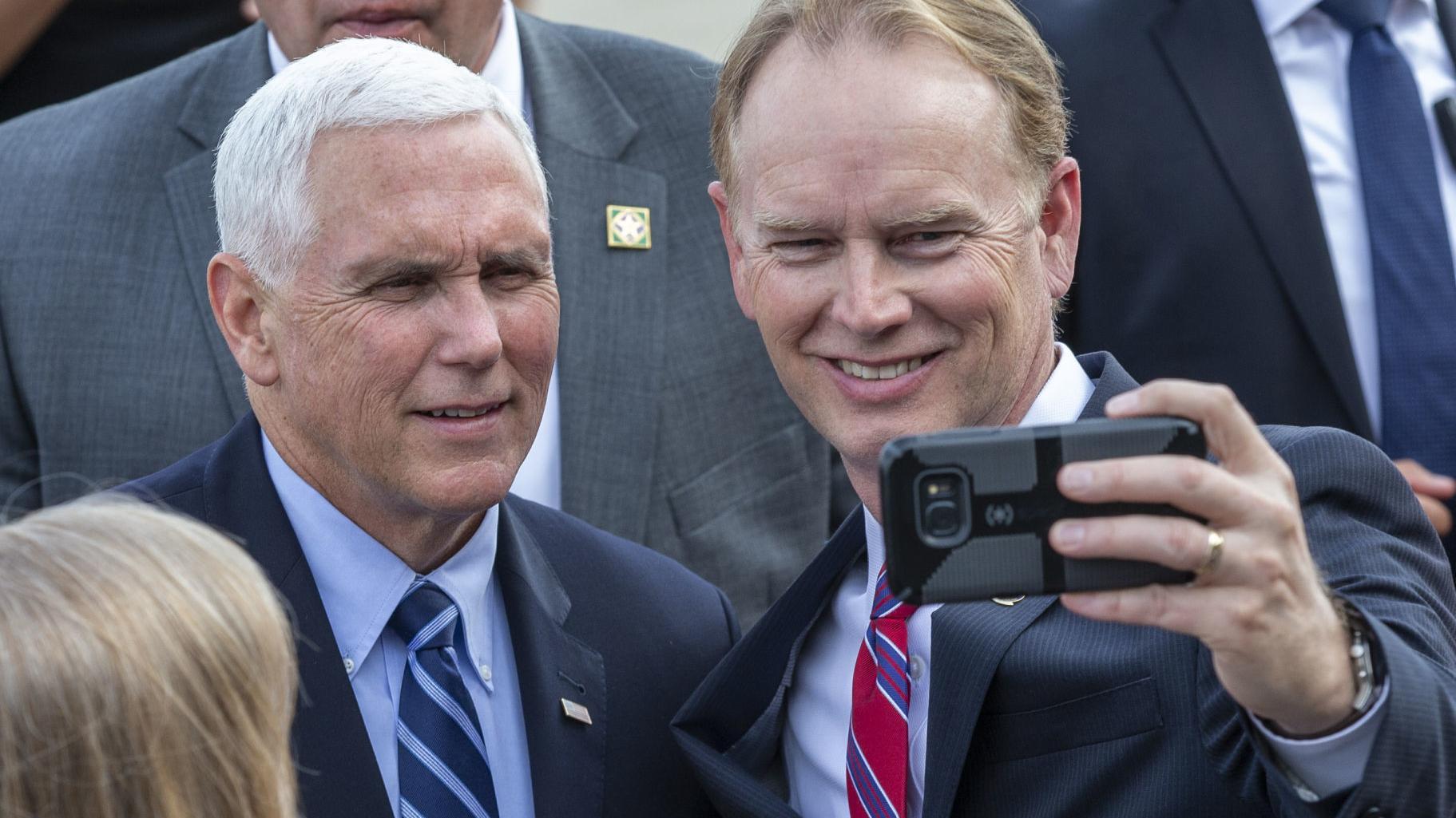 Vice President Mike Pence visits Greensboro for Tillis fundraiser