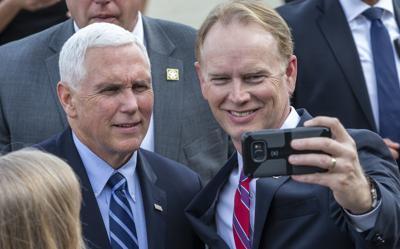 Vice President Pence visits Greensboro