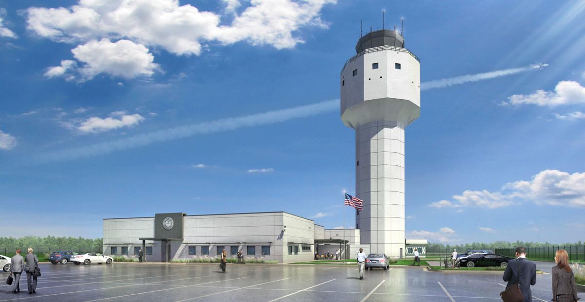 Future air-traffic control tower at PTI