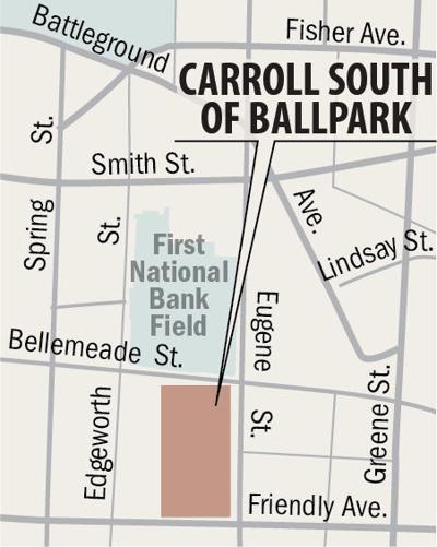 Carroll South of Ballpark