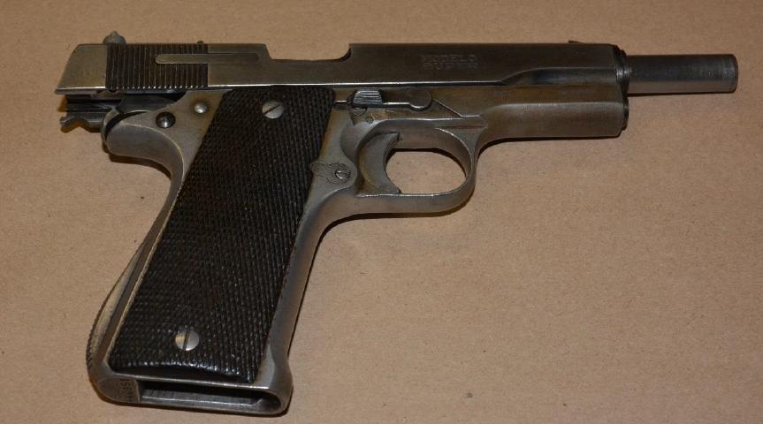 High Point University pistol