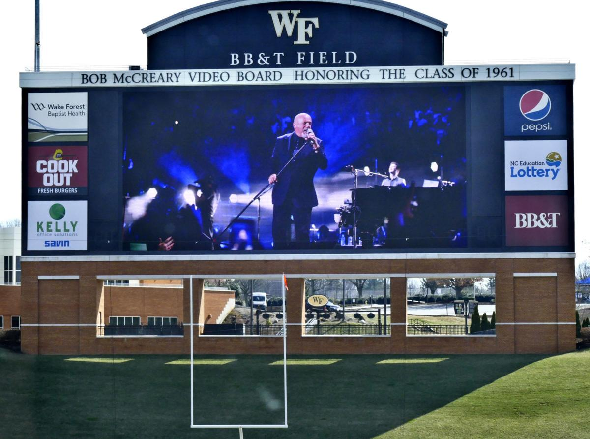 Billy joel coming to bb t field at wfu for Dining at bb t center