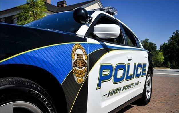High Point police cruiser
