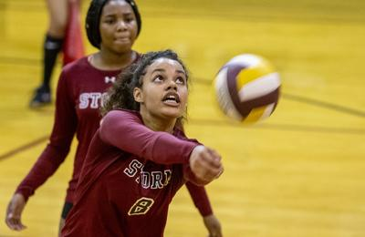 Eastern Guilford versus Southern Guilford Volleyball