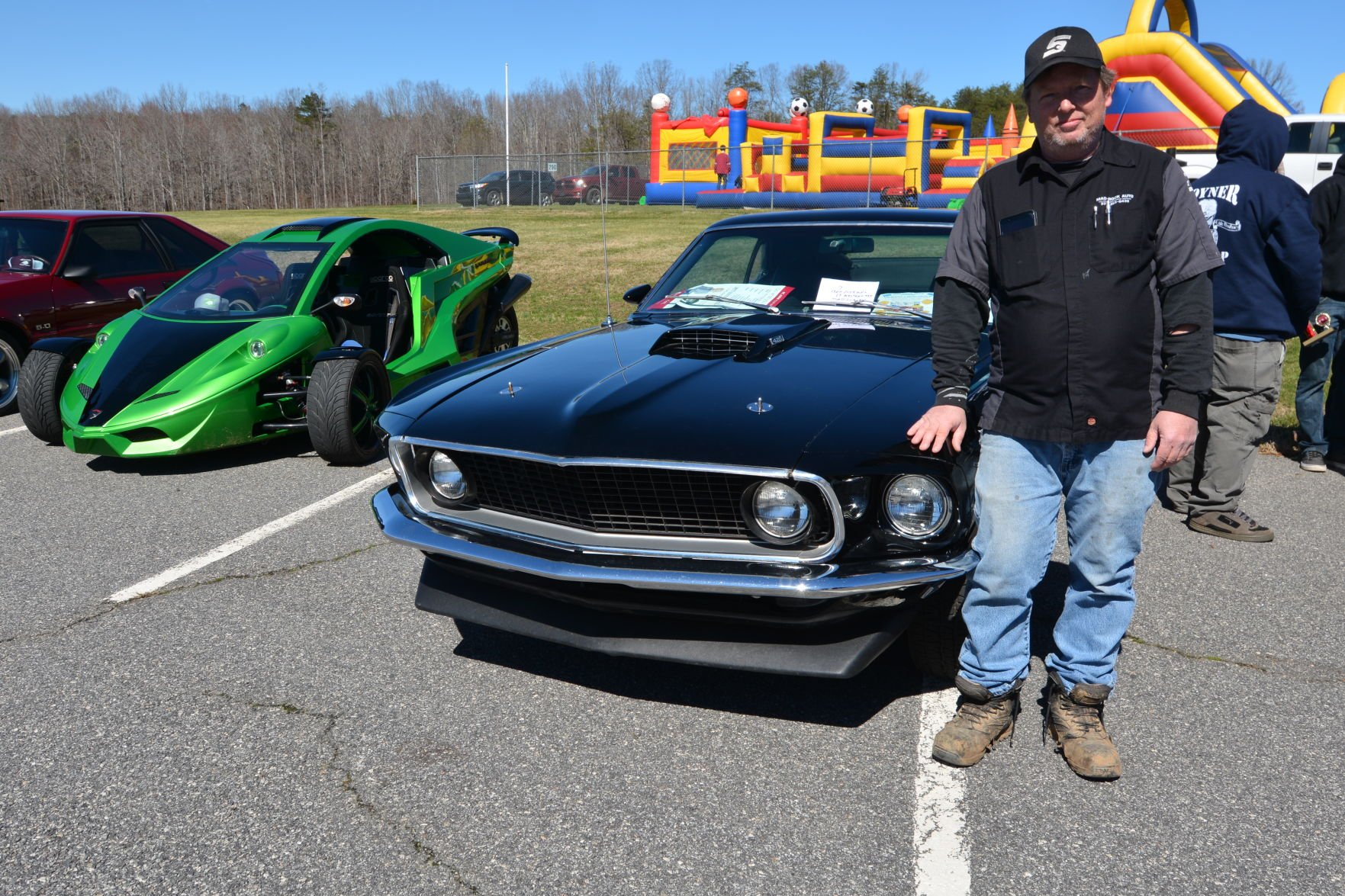 Hot rod mustang giveaways