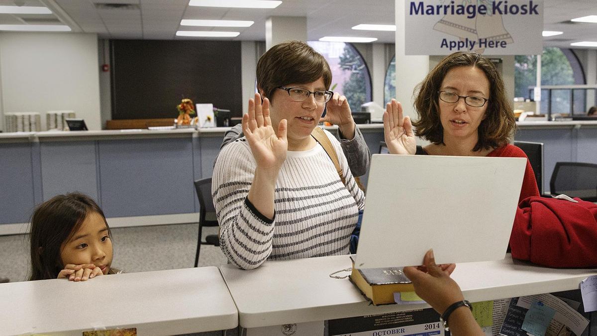 Same-sex weddings  continue in Greensboro