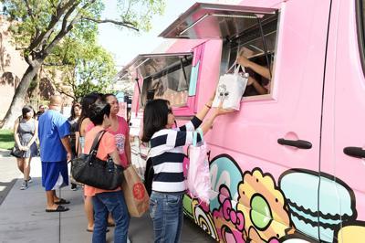 Hello Kitty Cafe Truck