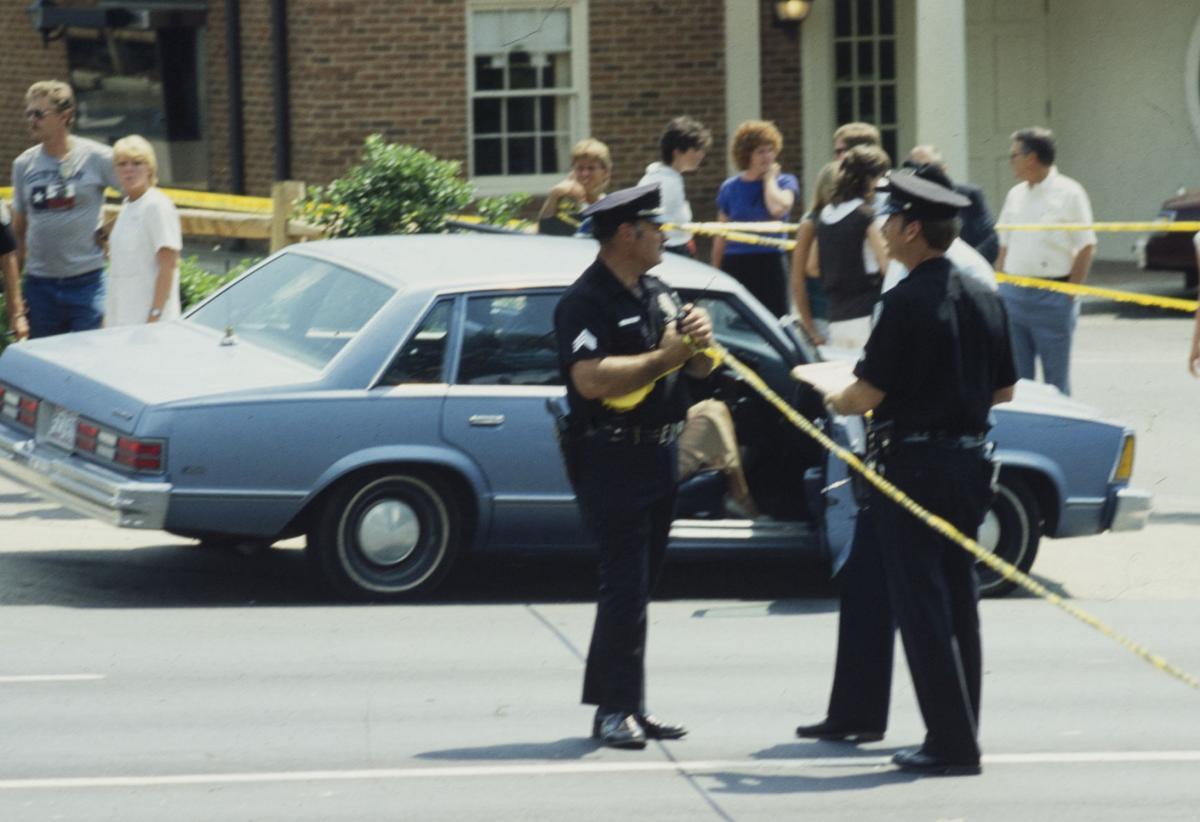 Scene Where Klenner Shot Officer Dennis