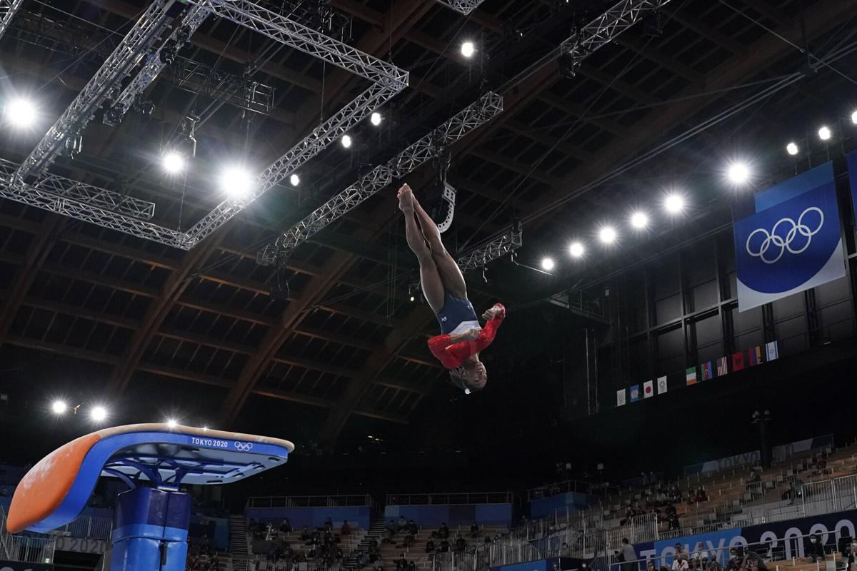 APTOPIX Tokyo Olympics Artistic Gymnastics