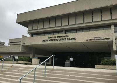 Greensboro City Hall Melvin Municipal Office Building
