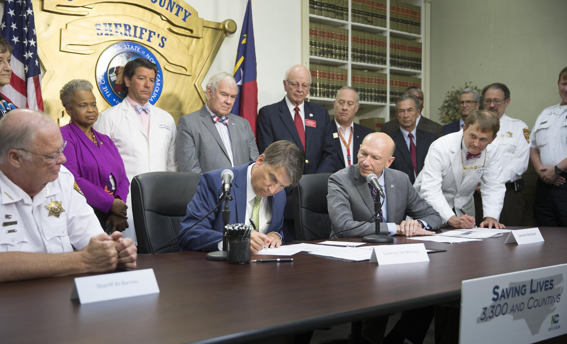 Senate Bill 734 Signng Ceremony
